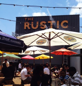 Completing the celebratory festivities on Sunday at the Rustic