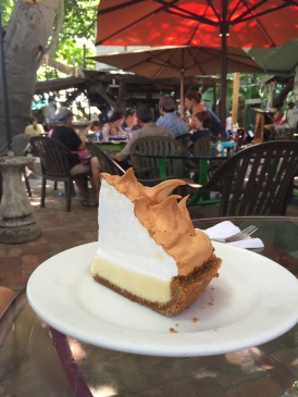 ...and the best Key Lime Pie
