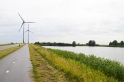 ...wind turbines...