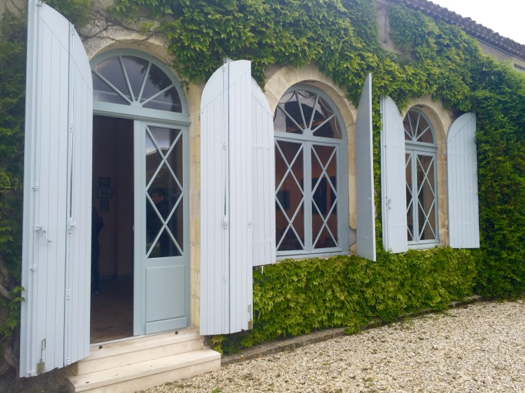 Loved the windows and setting of Château Paveil De Luze