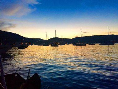 Sunset in Vis