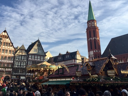 Christmas markets in the daytime