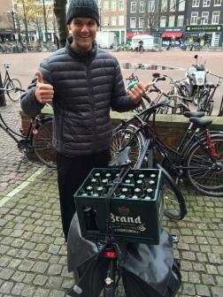 How we bring home beer :)